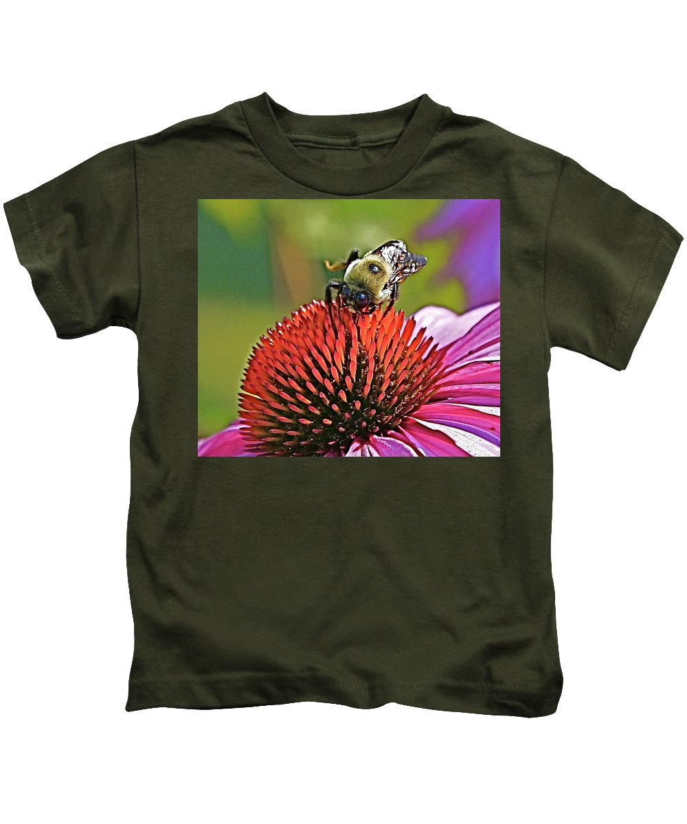 Bee Kids T-Shirt featuring the photograph Beware by Robert Pearson