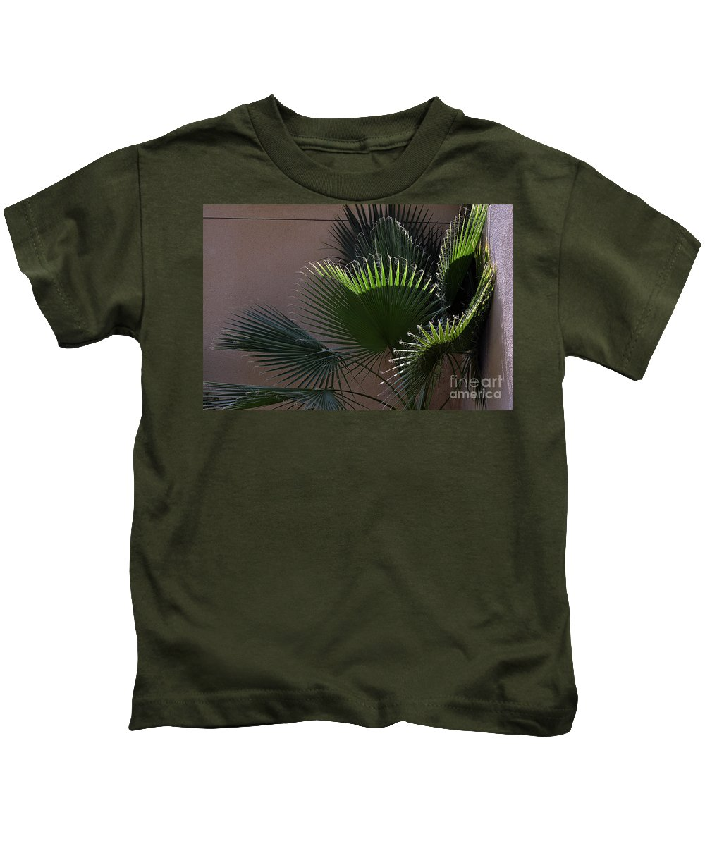 Clay Kids T-Shirt featuring the photograph Biggest Fans by Clayton Bruster