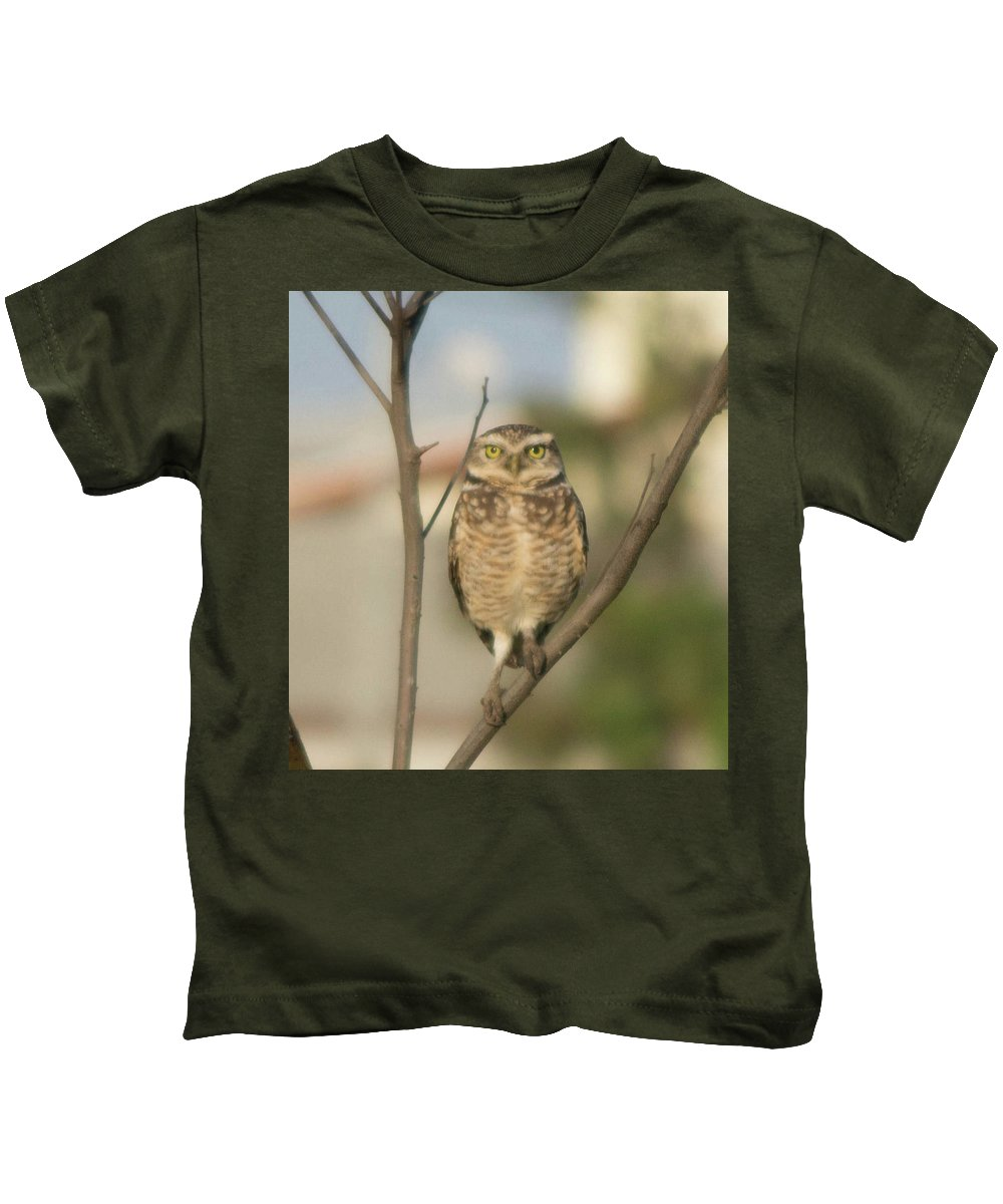 Kids T-Shirt featuring the photograph Bird by Cristhian Nogueira