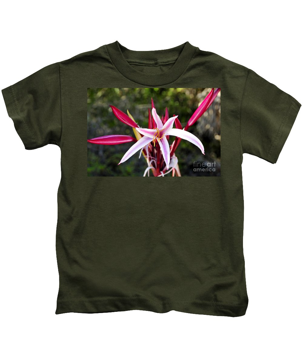 Blossom Kids T-Shirt featuring the photograph Blossoming Beauty by David Lee Thompson