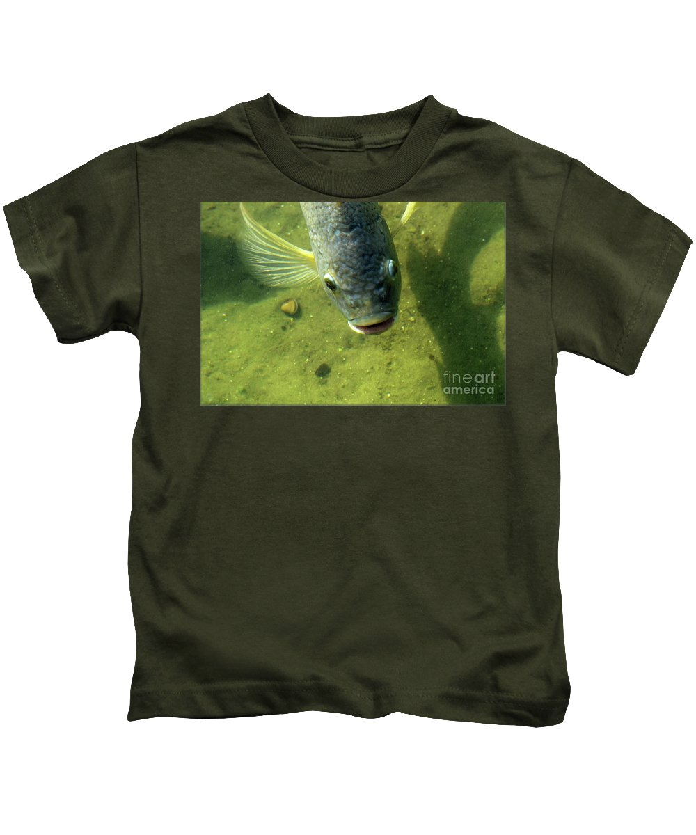 Fish Kids T-Shirt featuring the photograph Botox by William Tasker