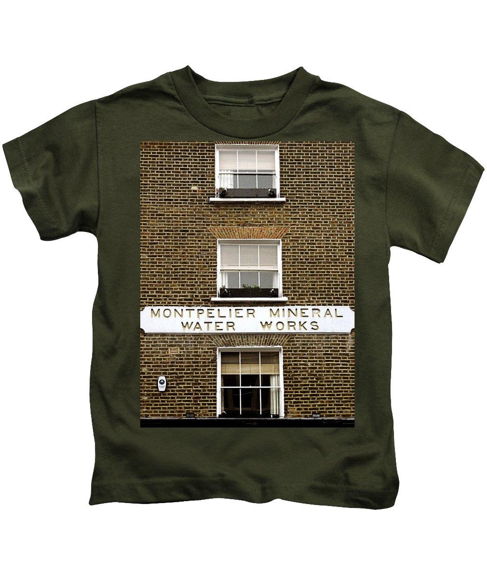 London Kids T-Shirt featuring the photograph Brick by Osvaldo Hamer