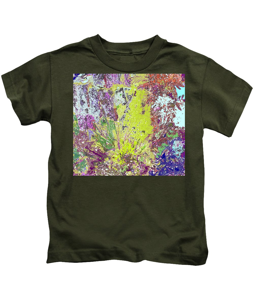 Abstract Kids T-Shirt featuring the photograph Brimstone Fantasy by Ian MacDonald