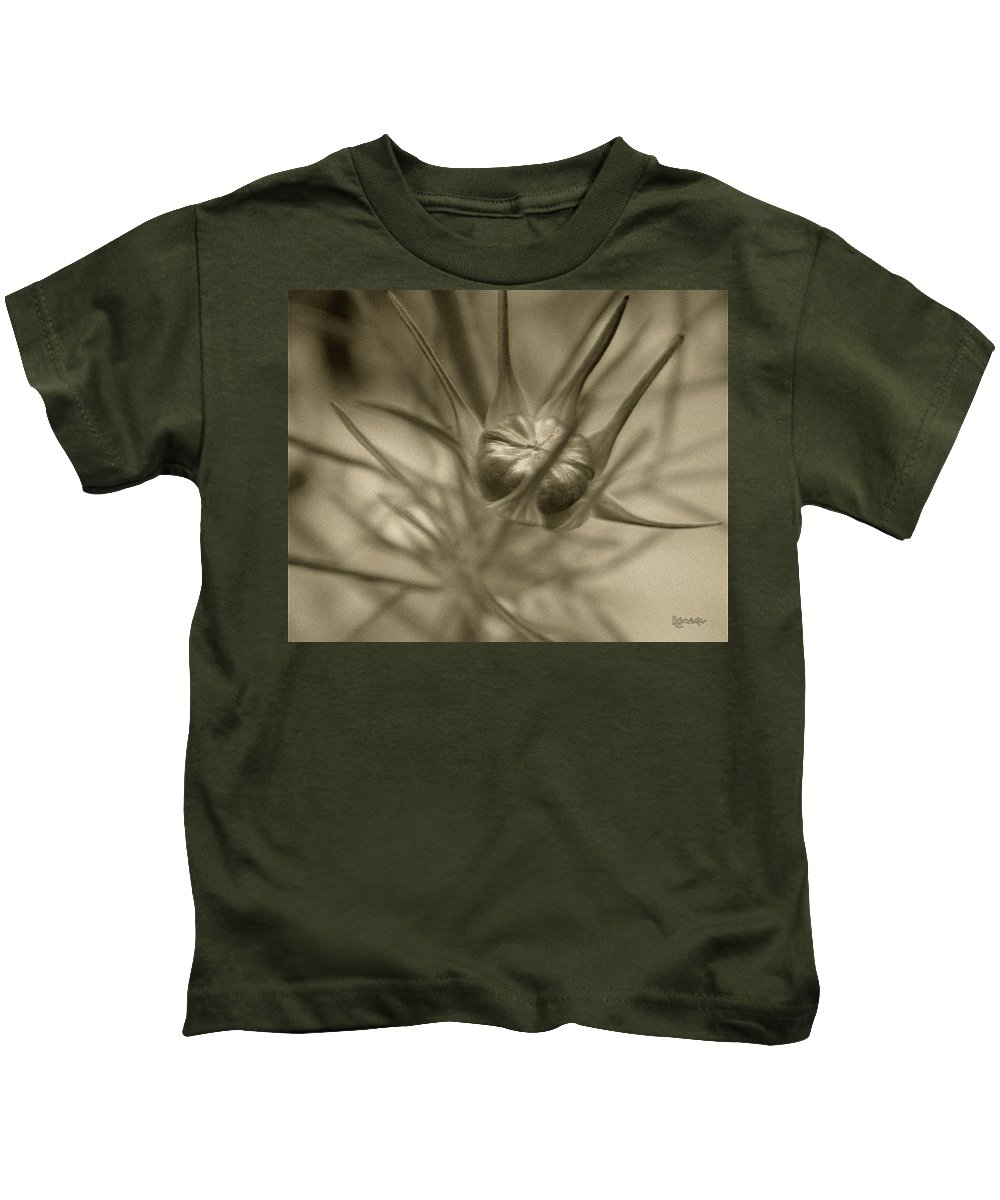 Bud Kids T-Shirt featuring the photograph Budding Beauty by RC DeWinter