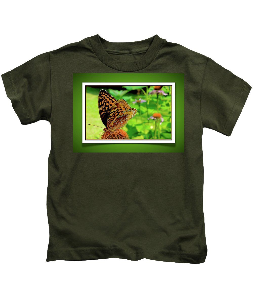 Butterfly Kids T-Shirt featuring the photograph Butterfly For Earth Day by Jane Alexander