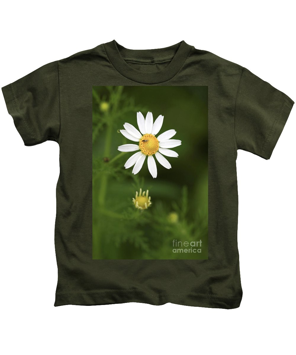 Flower Kids T-Shirt featuring the photograph By The Pond by Deborah Benoit