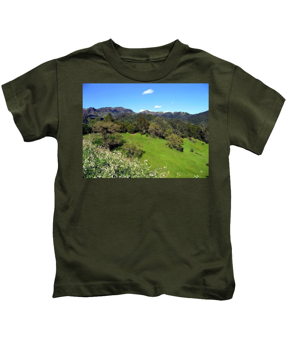 California Kids T-Shirt featuring the photograph California Highlands by Will Borden