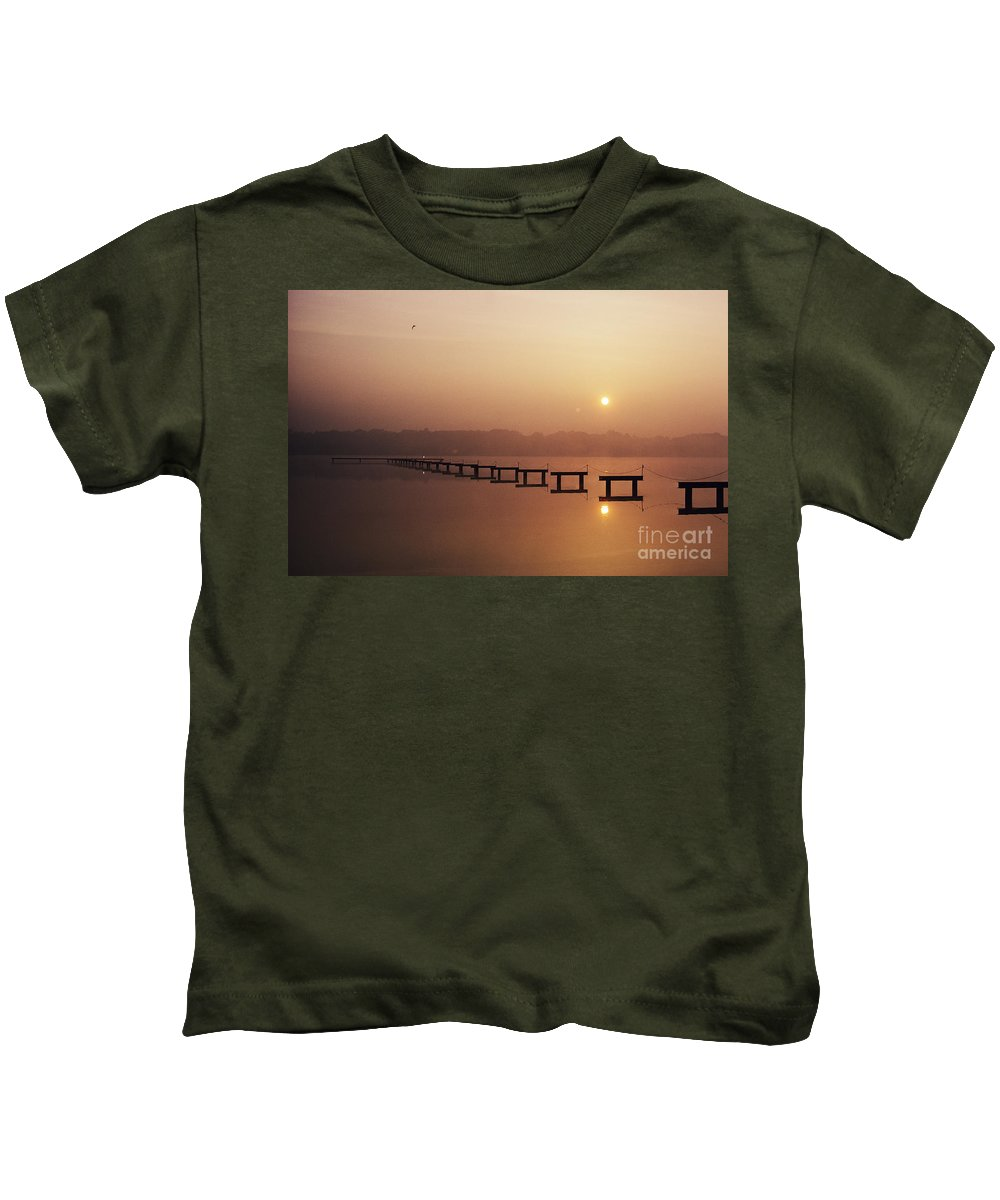 Beautiful Kids T-Shirt featuring the photograph Cape May by Larry Dale Gordon - Printscapes