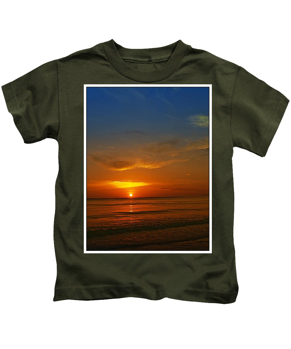 Sunshine Kids T-Shirt featuring the photograph Caribbean Morning by Galeria Trompiz