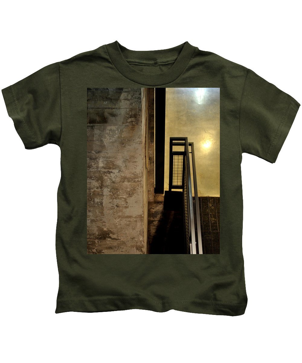 Abstract Kids T-Shirt featuring the photograph Carlton 11 by Tim Nyberg