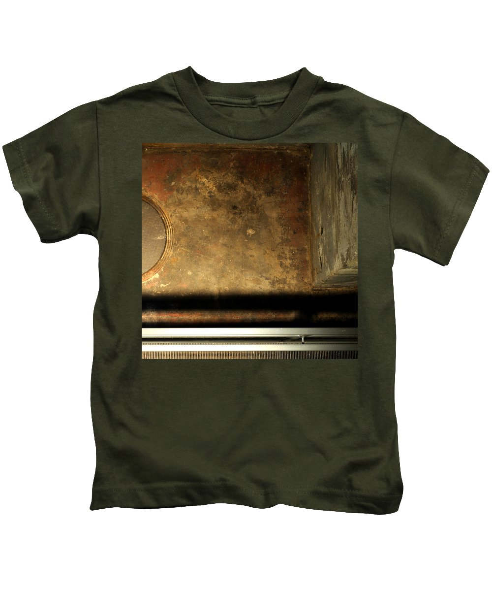 Manhole Kids T-Shirt featuring the photograph Carlton 13 - Abstract From The Bridge by Tim Nyberg