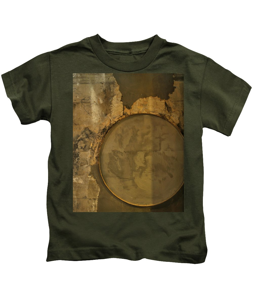 Concrete Kids T-Shirt featuring the photograph Carlton 3 - Abstract Concrete by Tim Nyberg