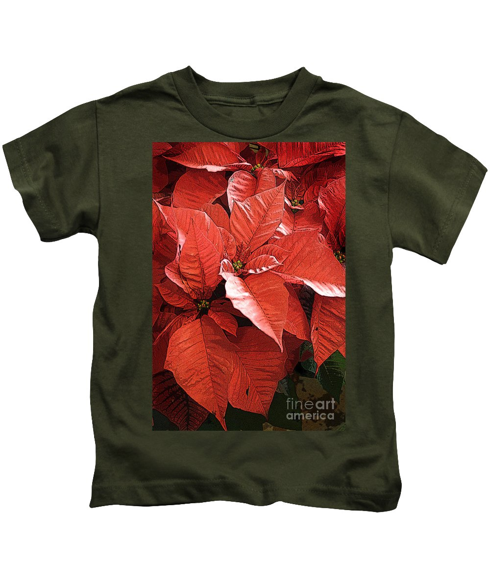 California Images Kids T-Shirt featuring the photograph Christmas In July by Norman Andrus