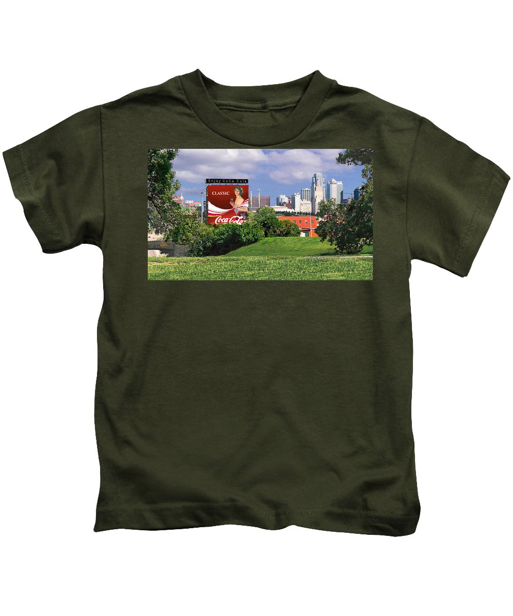 Landscape Kids T-Shirt featuring the photograph Classic Summer by Steve Karol
