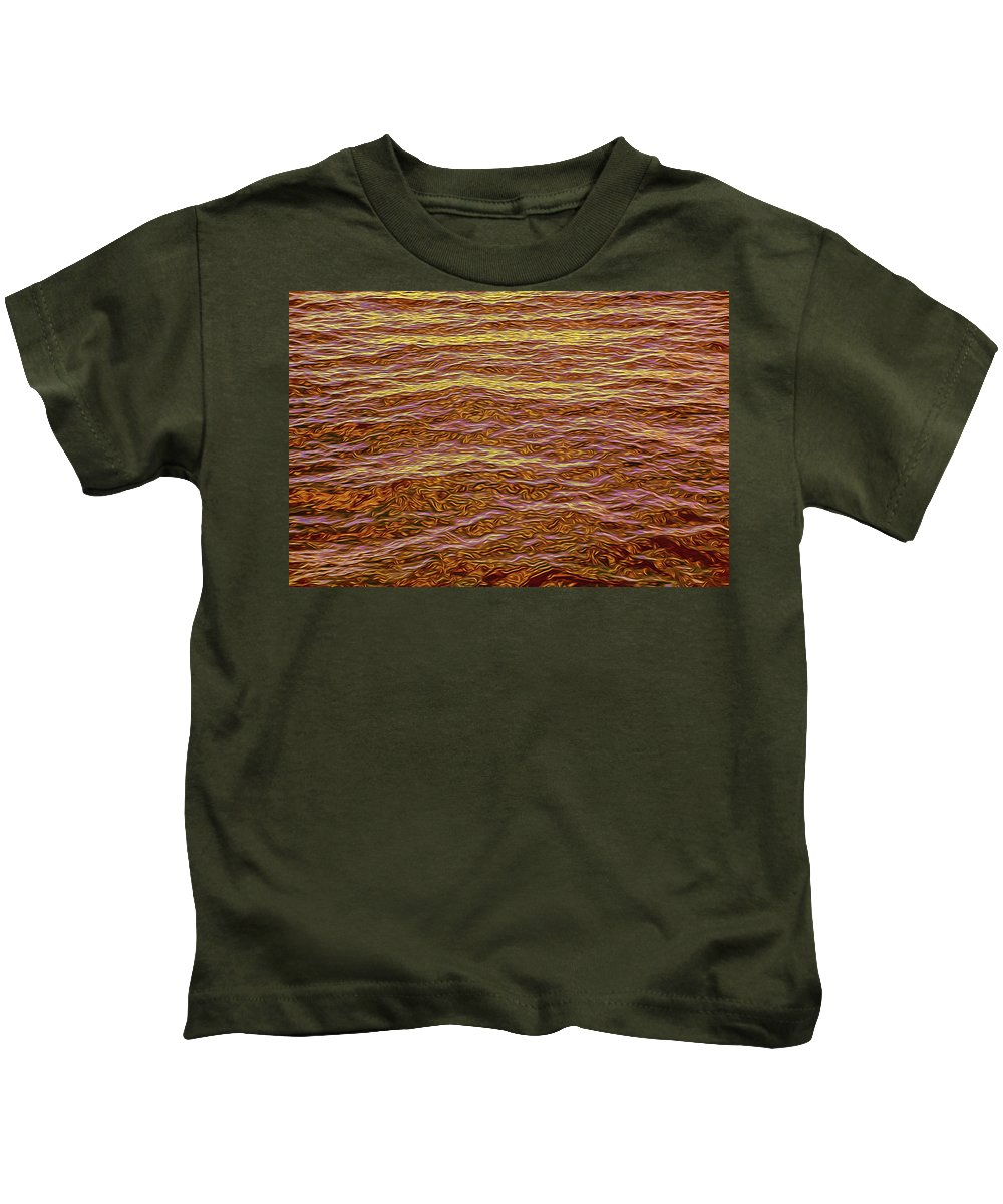 Background Kids T-Shirt featuring the photograph Color Abstract by Art Phaneuf