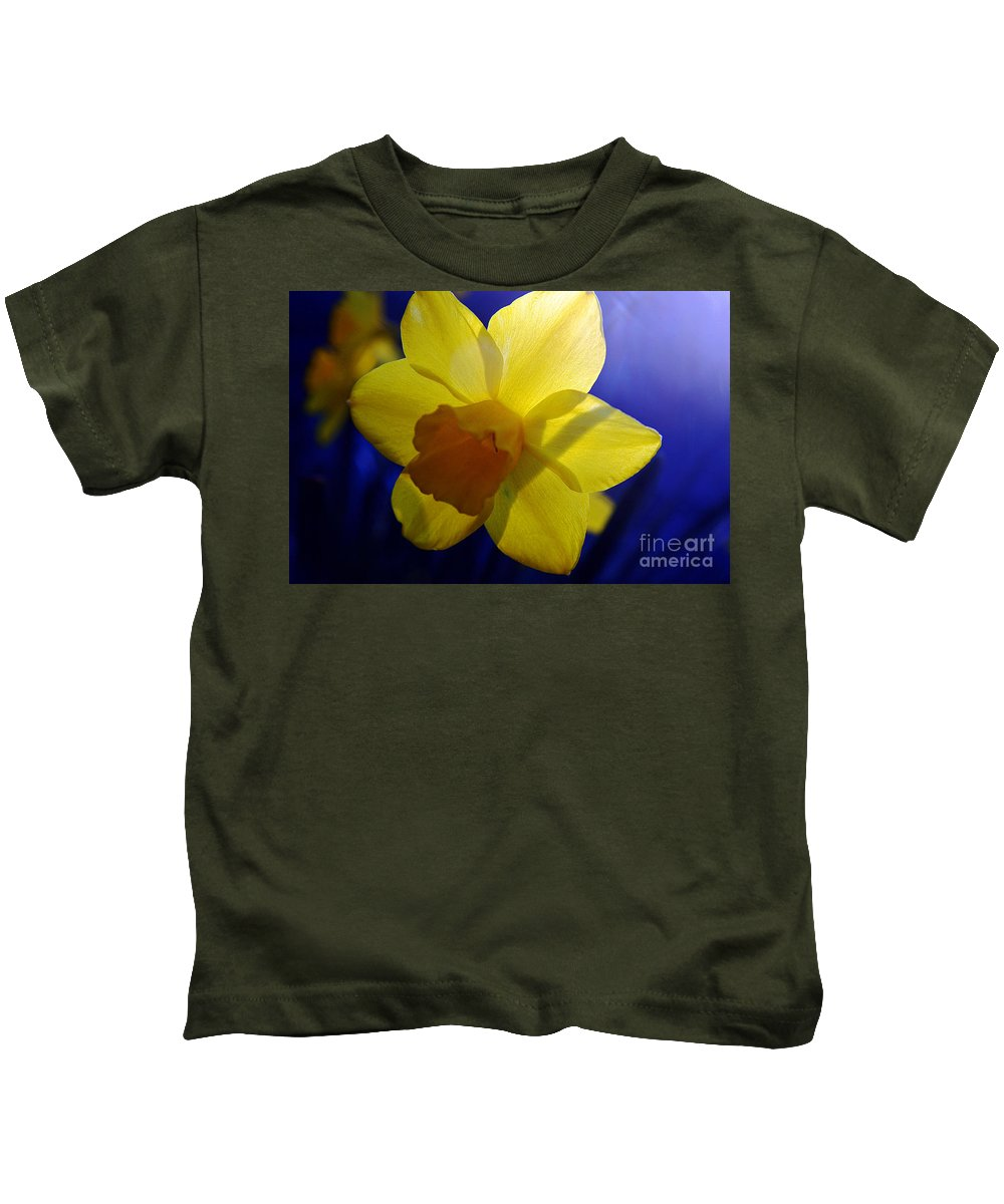 Clay Kids T-Shirt featuring the photograph Colorful Spring Floral by Clayton Bruster