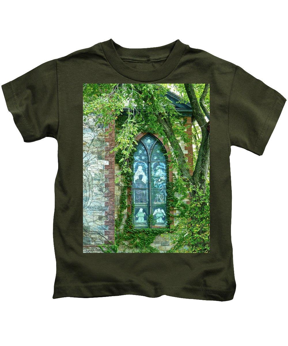 Church Kids T-Shirt featuring the photograph Come Meet God by Diana Hatcher