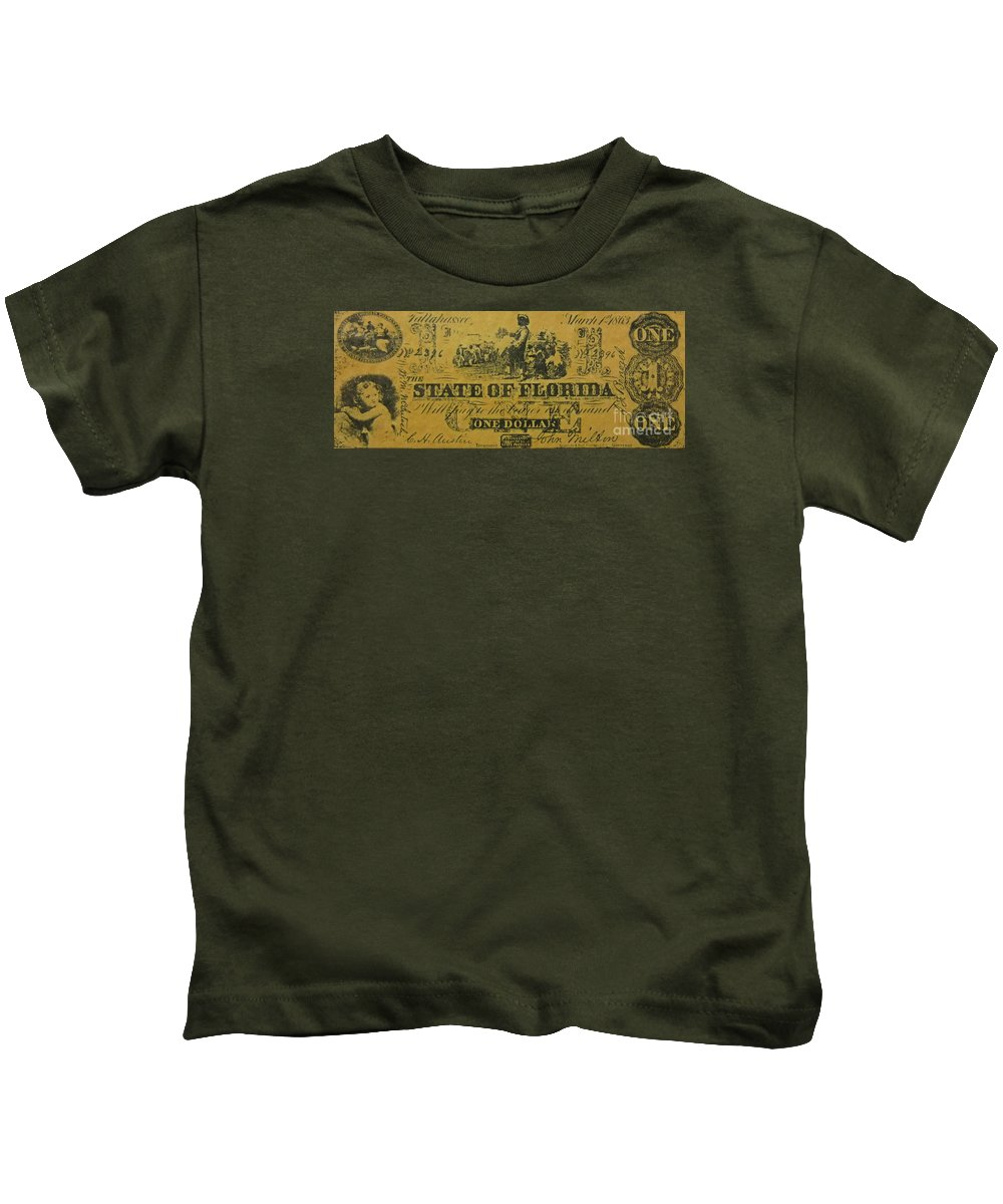 Confederacy Kids T-Shirt featuring the photograph Confederacy by Pd