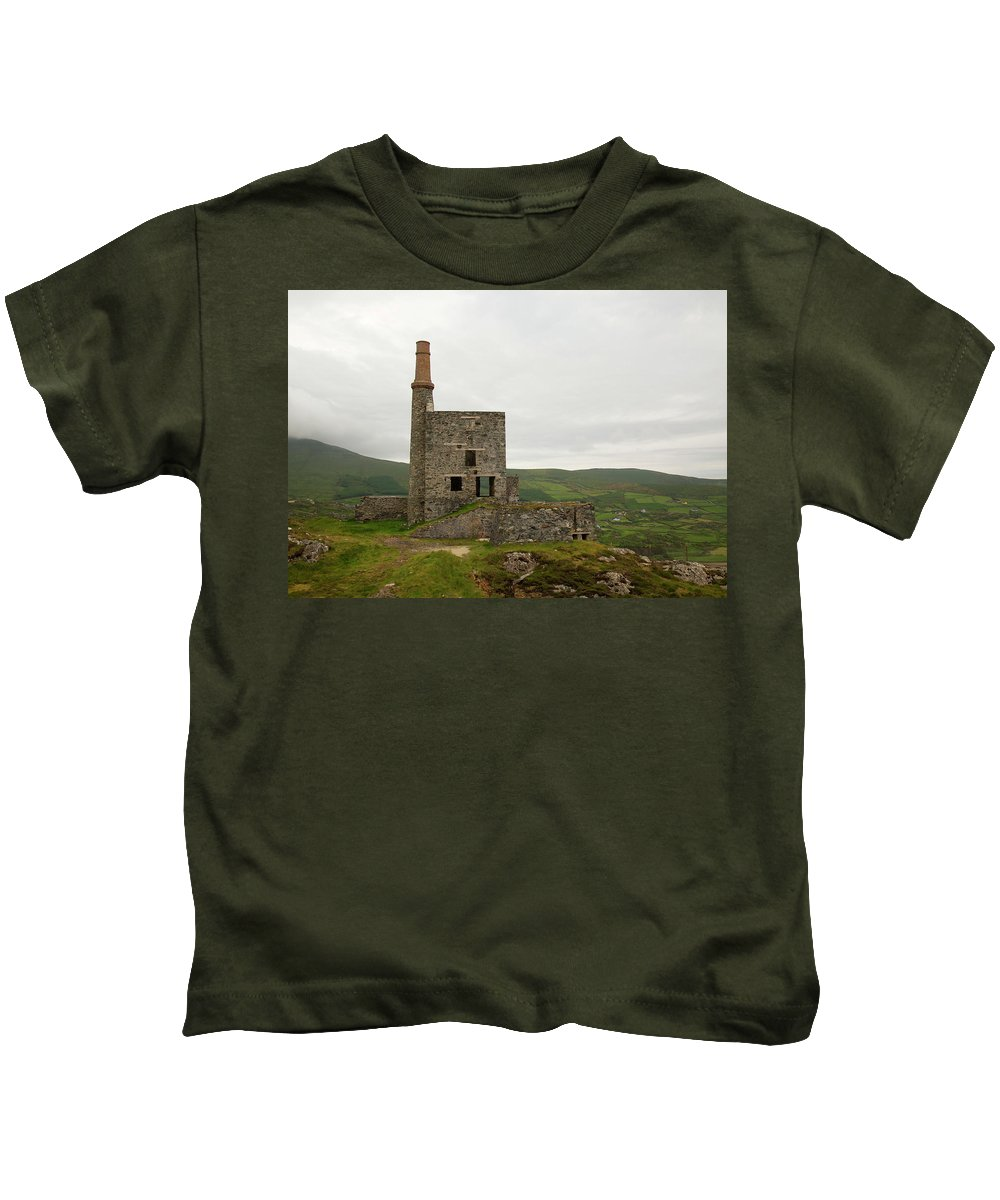 Landscape Copper Mine Kids T-Shirt featuring the photograph Copper Mine by Keith Thain
