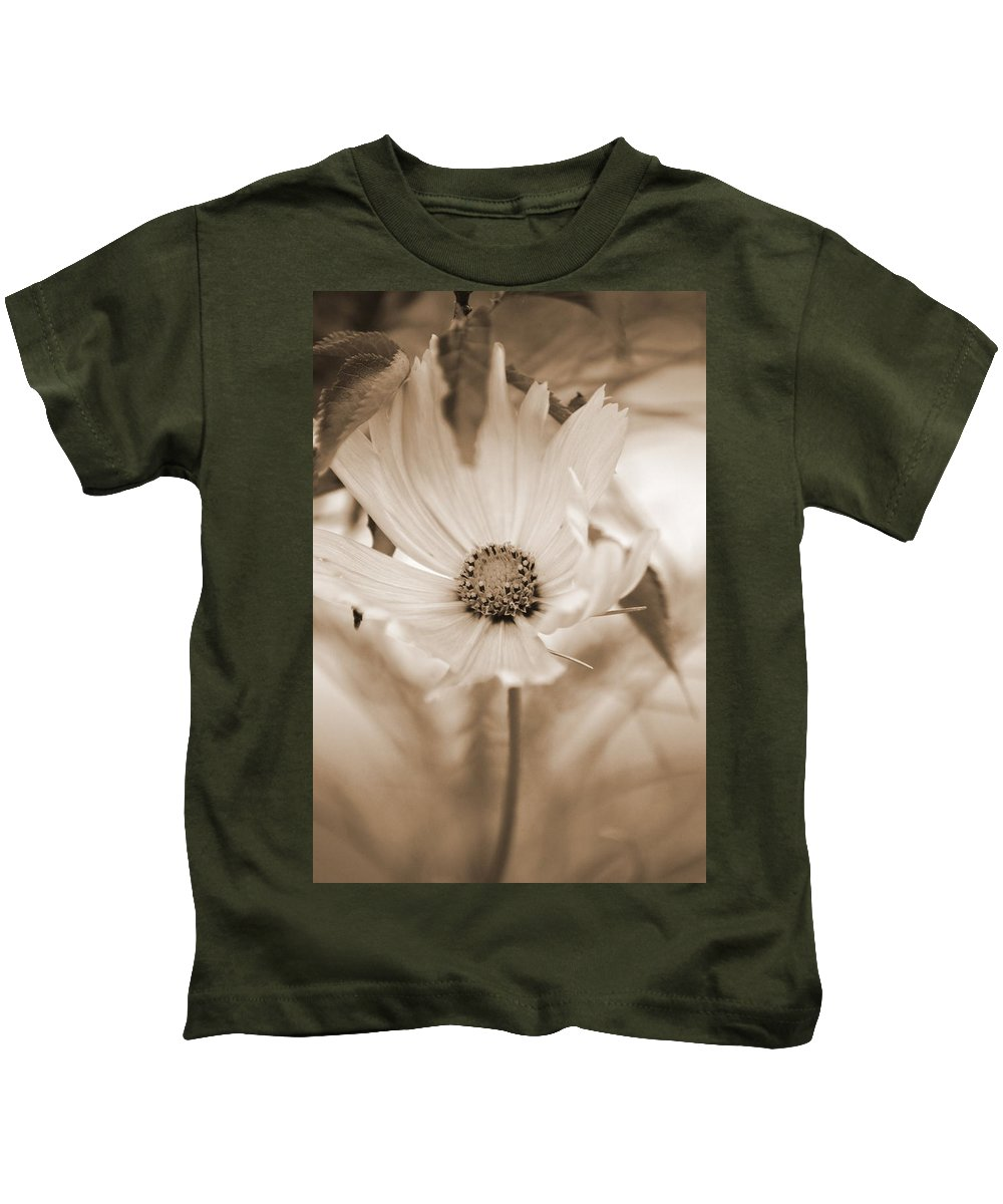 Flower Kids T-Shirt featuring the photograph Cosmo by Donna Bentley