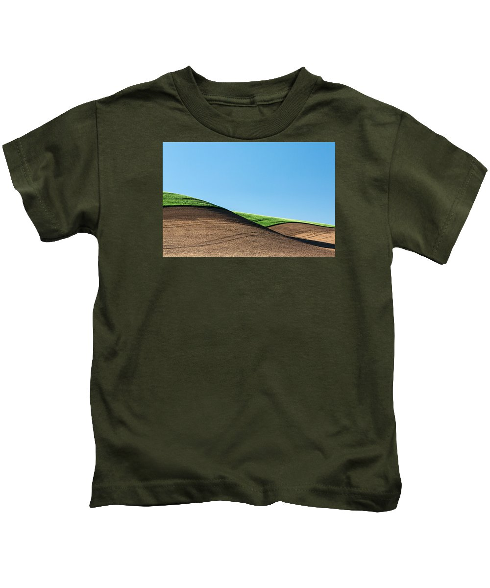 Simplicity Kids T-Shirt featuring the photograph Crop Top by Todd Klassy