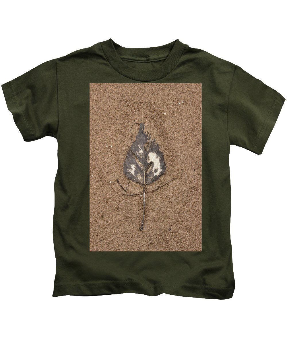 Montana Kids T-Shirt featuring the photograph Crushed by Alan Anderson