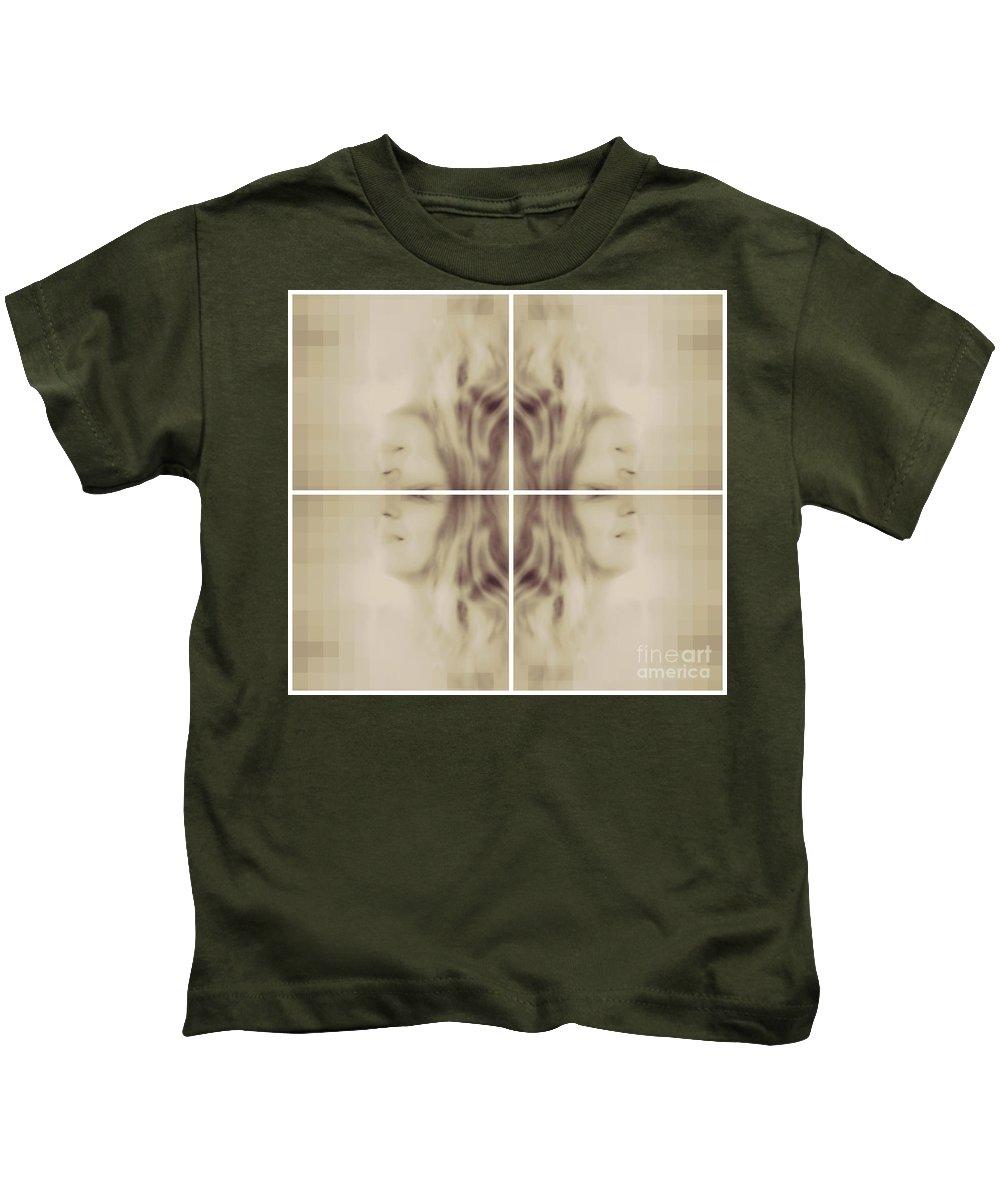 Eva Maria Nova Kids T-Shirt featuring the photograph Cubicious Mind by Eva Maria Nova