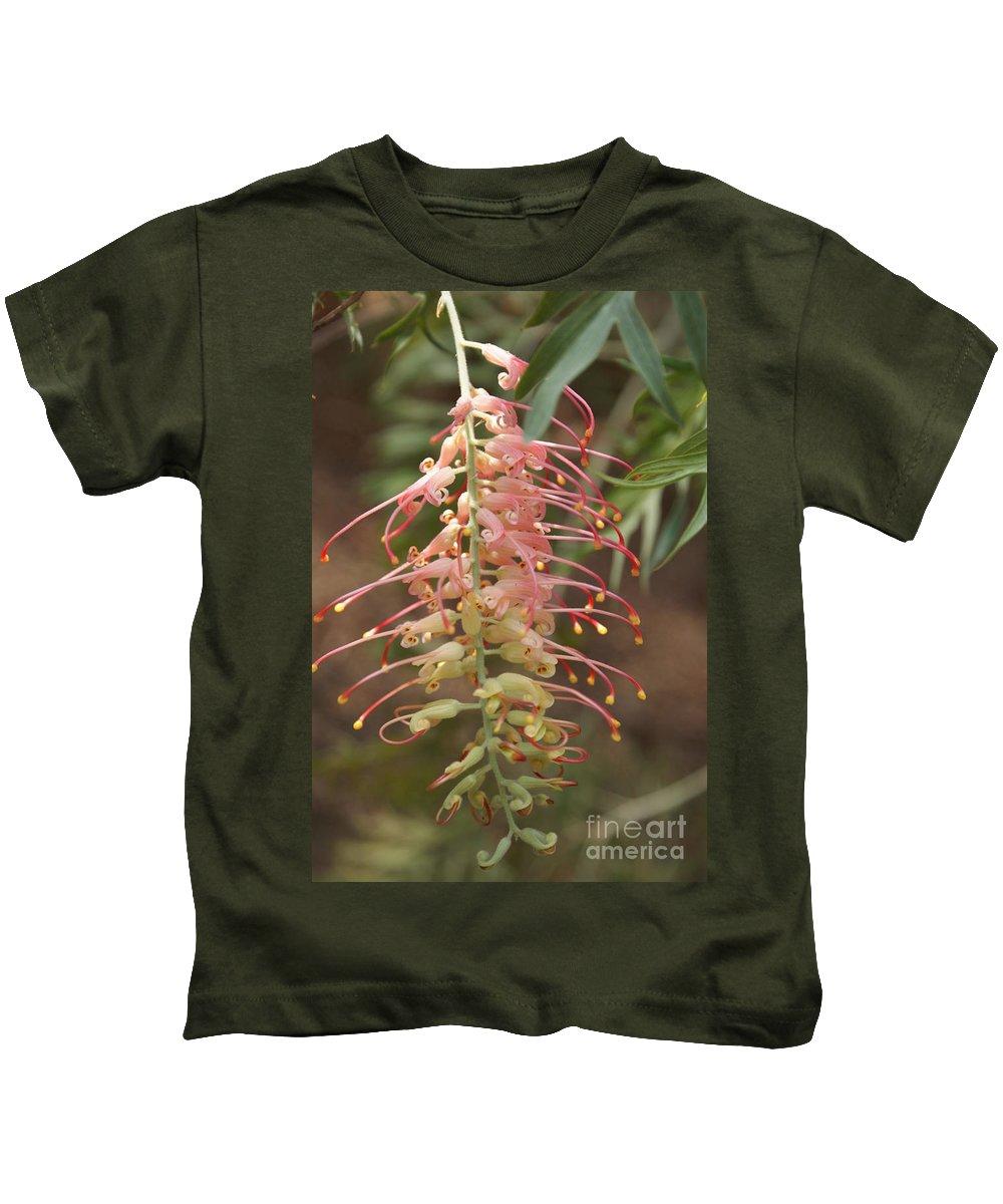 Floral Kids T-Shirt featuring the photograph Dancer by Shelley Jones