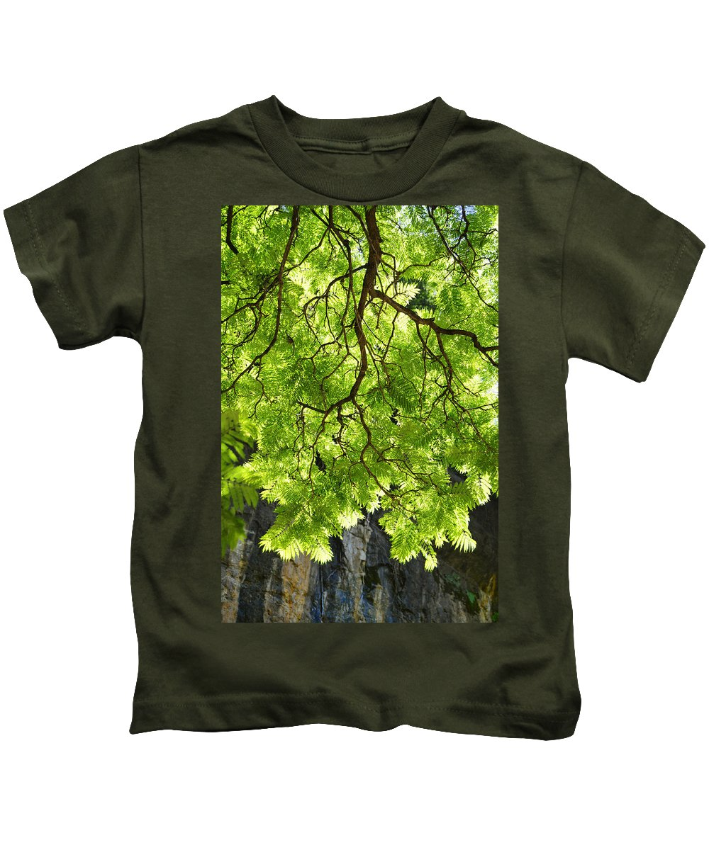 Skiphunt Kids T-Shirt featuring the photograph Daydream by Skip Hunt