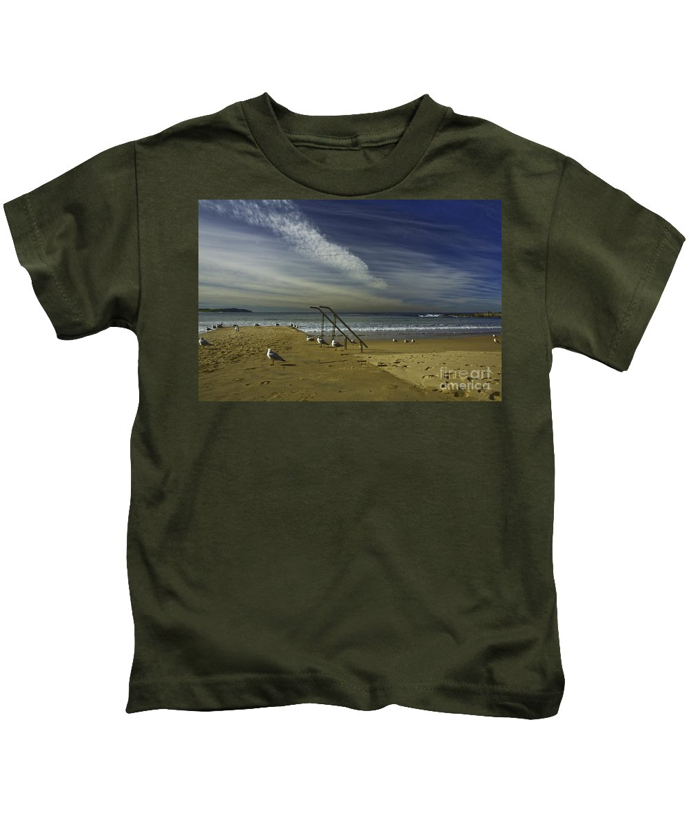 Beach Kids T-Shirt featuring the photograph Dee Why Beach Sydney by Sheila Smart Fine Art Photography