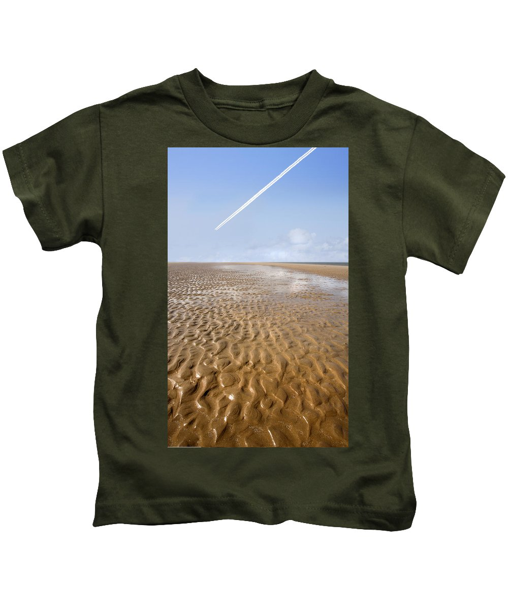 Travel Kids T-Shirt featuring the photograph Distant Horizon by Mal Bray