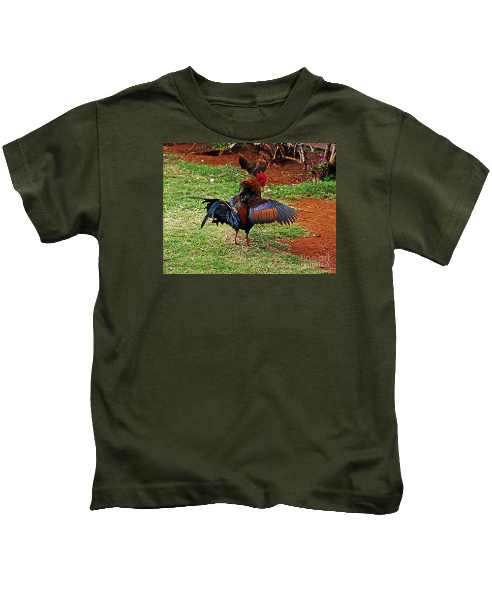 Fine Art Photography Kids T-Shirt featuring the photograph Don't Mess With My Woman by Patricia Griffin Brett