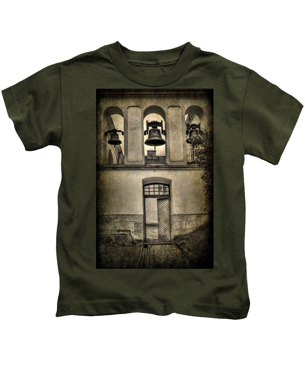 Ukraine Kids T-Shirt featuring the photograph Door Bells by Evelina Kremsdorf