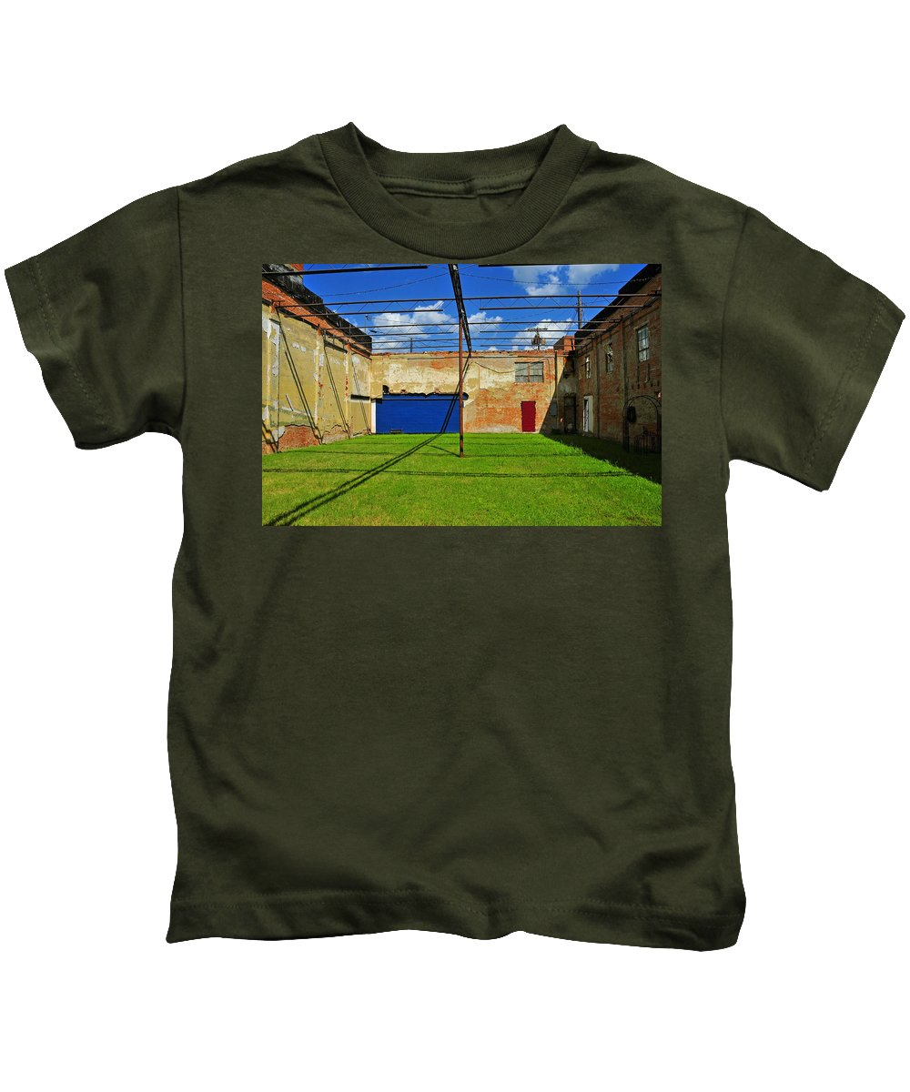 Skiphunt Kids T-Shirt featuring the photograph Eco-store by Skip Hunt