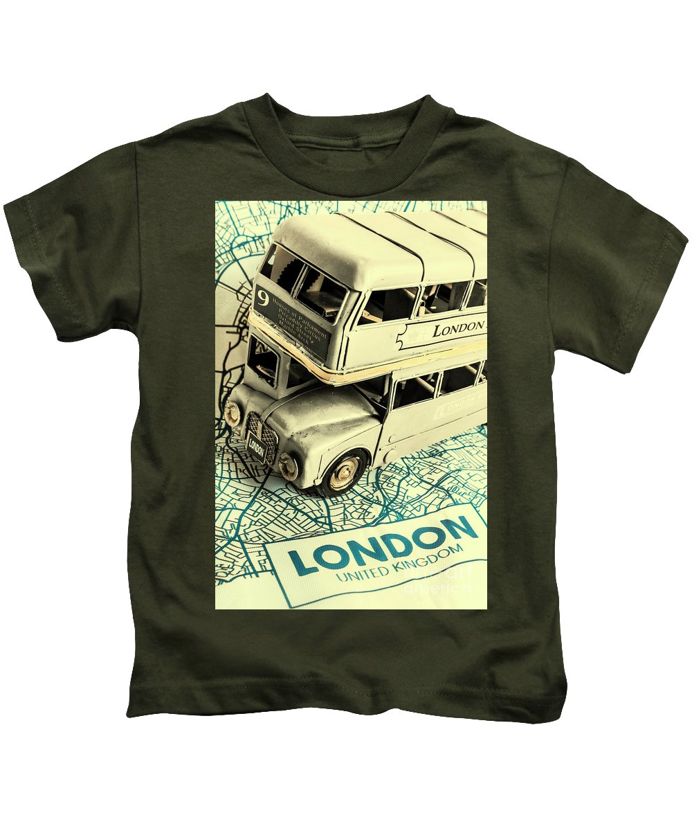 England Kids T-Shirt featuring the photograph English Way by Jorgo Photography - Wall Art Gallery