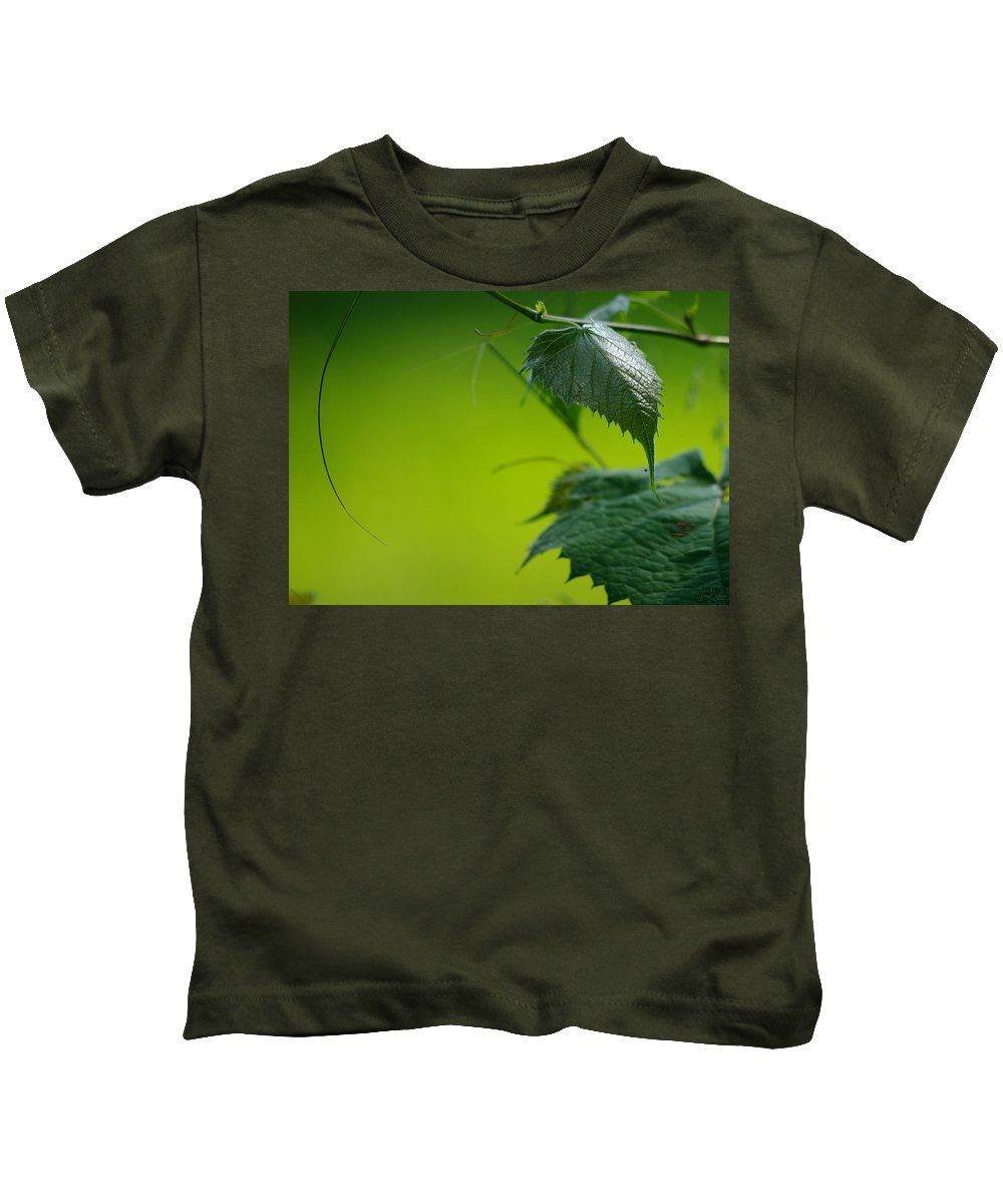 Jenny Gandert Kids T-Shirt featuring the photograph Fading Memories by Jenny Gandert