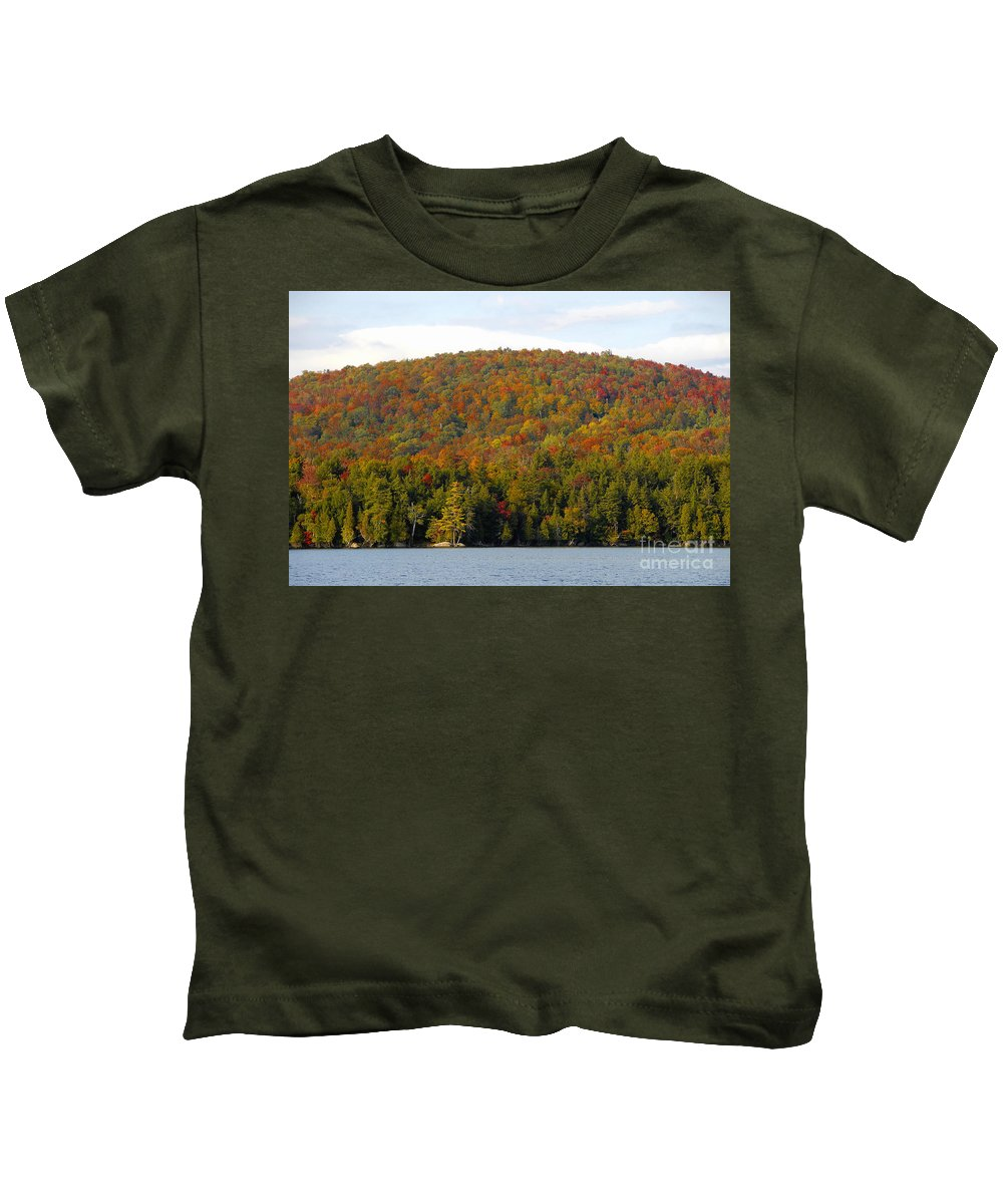 Fall Kids T-Shirt featuring the photograph Fall Island by David Lee Thompson