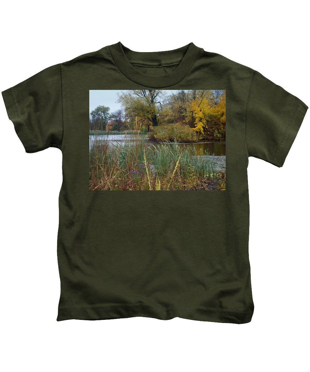 Fall Kids T-Shirt featuring the photograph Fall Series 7 by Anita Burgermeister