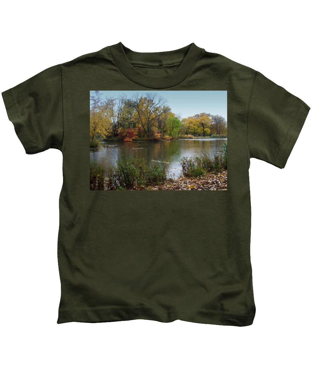 Fall Kids T-Shirt featuring the photograph Fall Series 8 by Anita Burgermeister