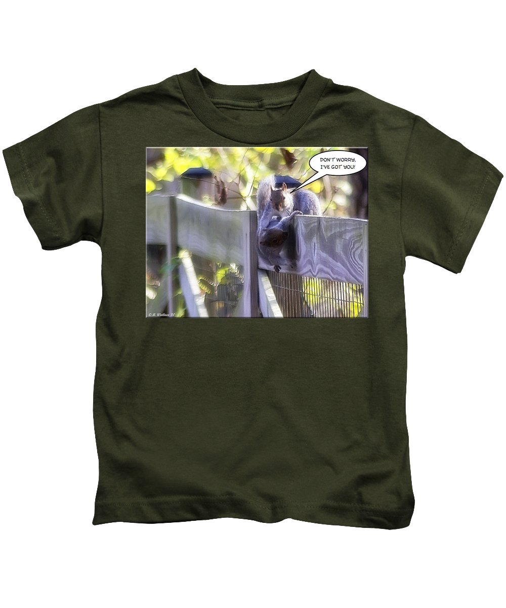 2d Kids T-Shirt featuring the photograph Fallen For You by Brian Wallace