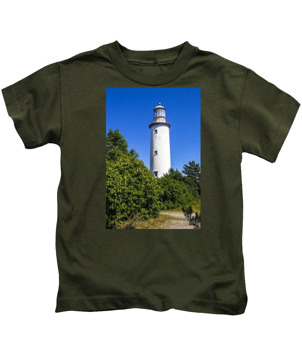 Faro Kids T-Shirt featuring the photograph Faro Light by Roberta Bragan