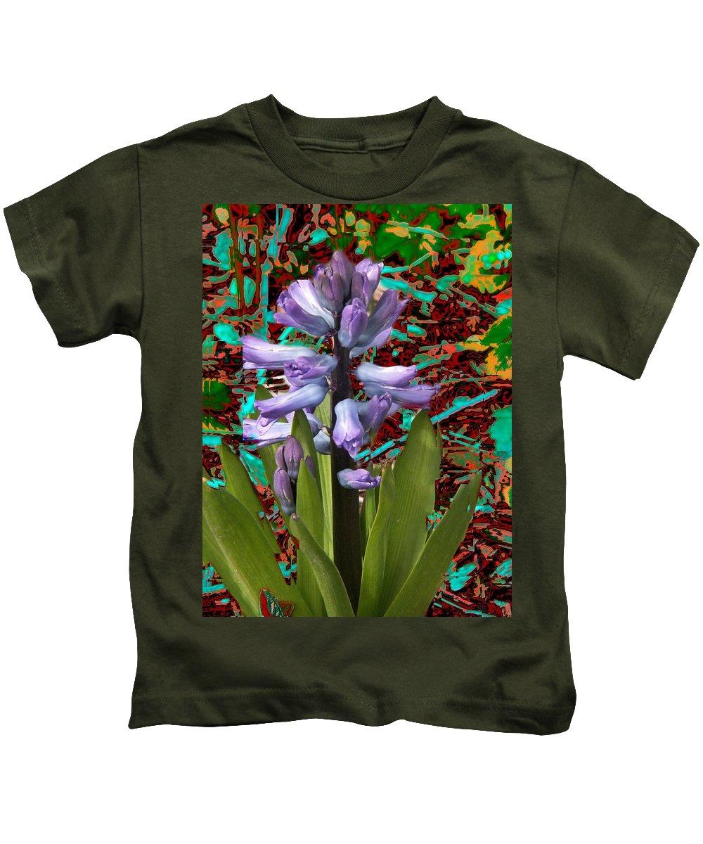 Flowers Kids T-Shirt featuring the photograph Flower 5 by Tim Allen
