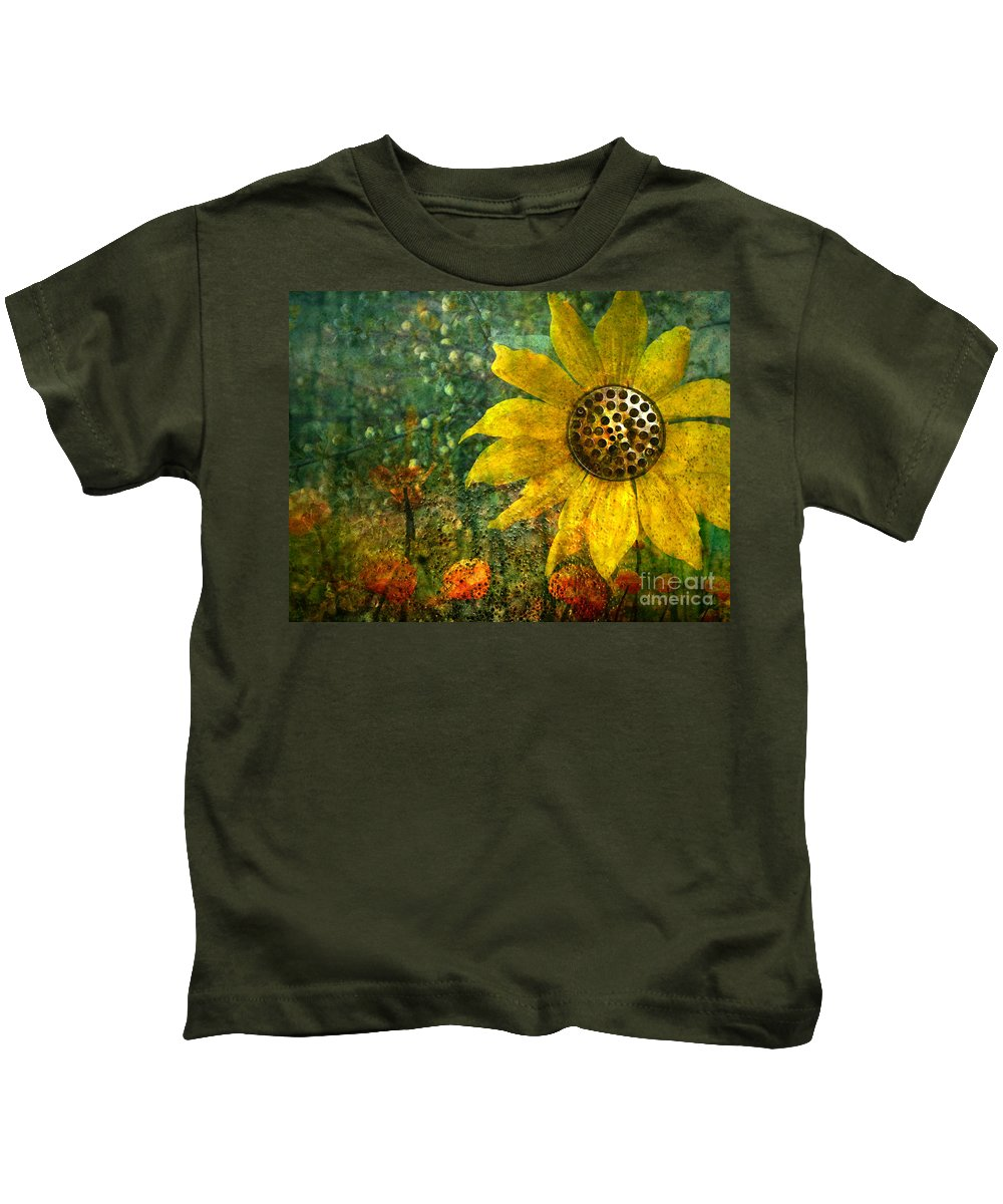 Flowers Kids T-Shirt featuring the photograph Flowers For Fun by Tara Turner
