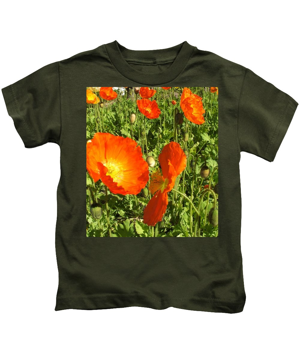 Flowers Kids T-Shirt featuring the photograph Flowers by Shari Chavira