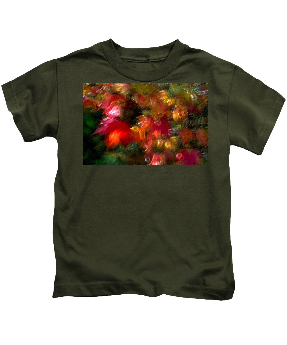 Canada Kids T-Shirt featuring the photograph Flury by Doug Gibbons