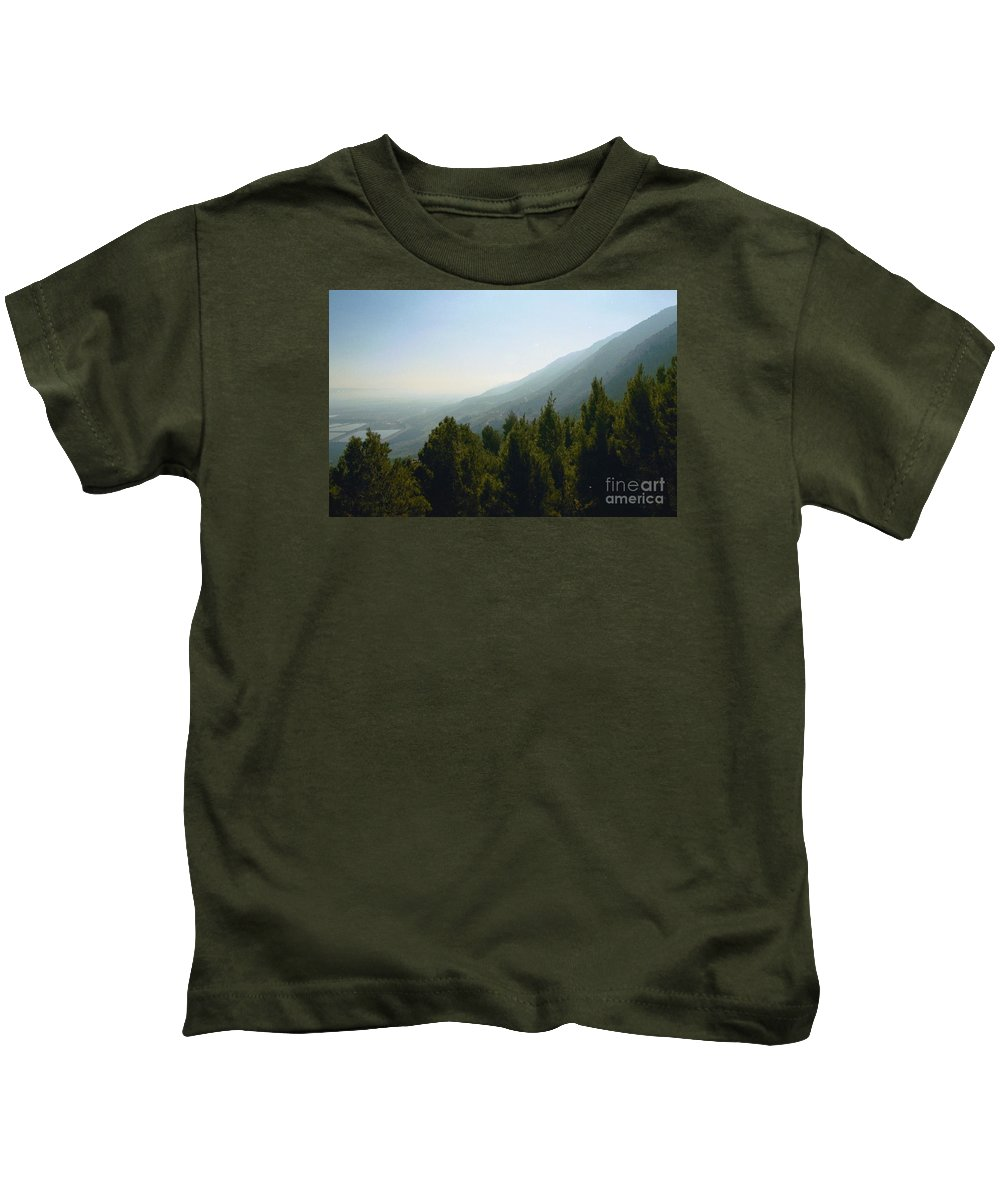 Nature Kids T-Shirt featuring the photograph Forest In Israel by Gail Kent