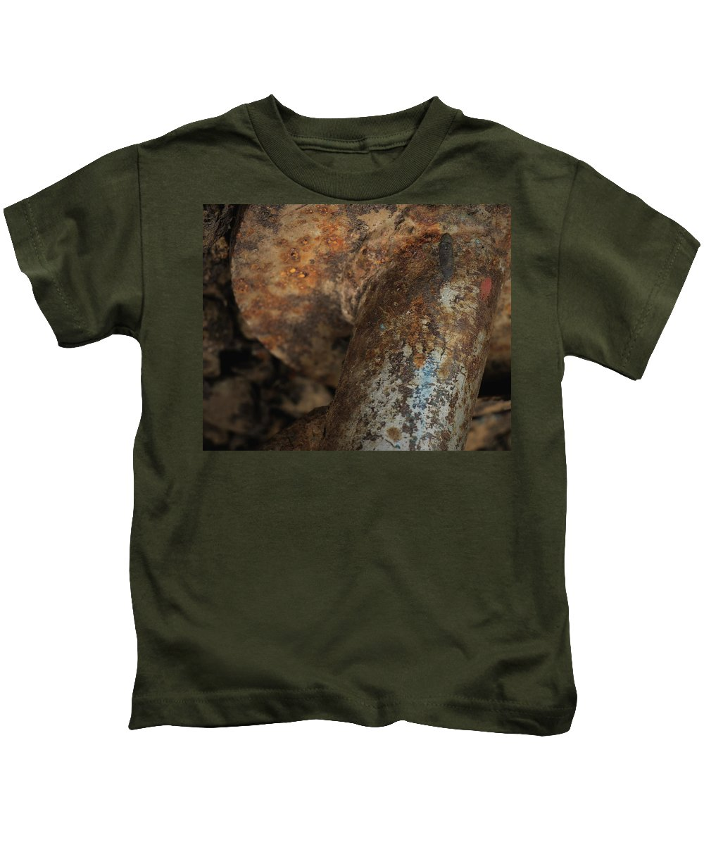 Bold Kids T-Shirt featuring the photograph Forged by Dorothy Hilde