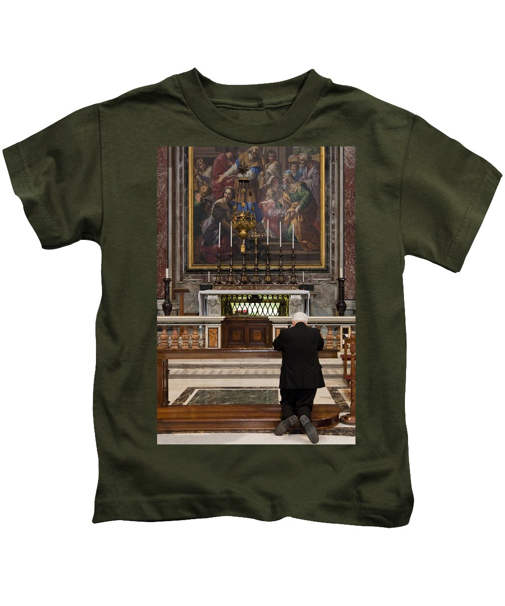 Italy Kids T-Shirt featuring the photograph Forgiveness by Janet Fikar