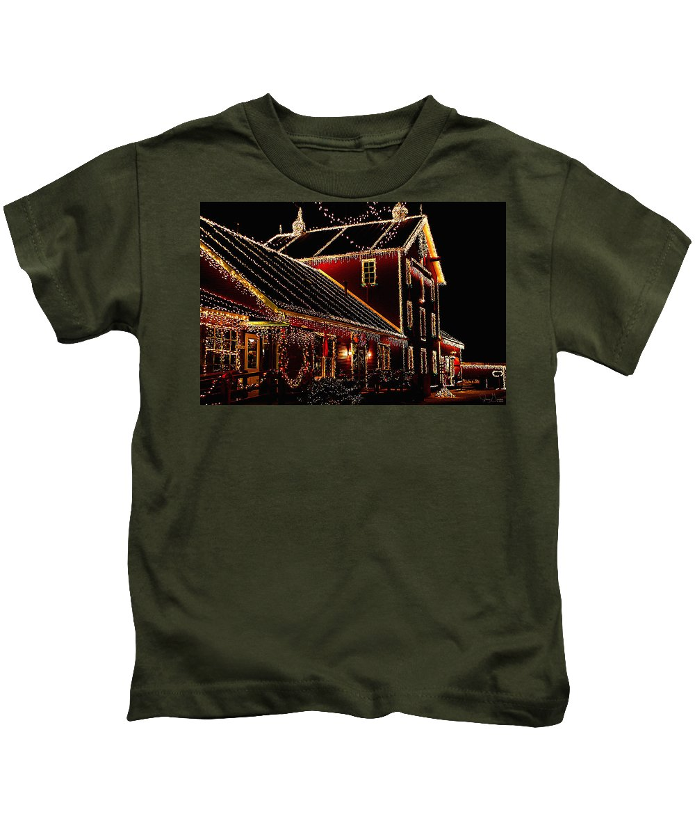 Jenny Gandert Kids T-Shirt featuring the photograph From Our Home To Yours by Jenny Gandert