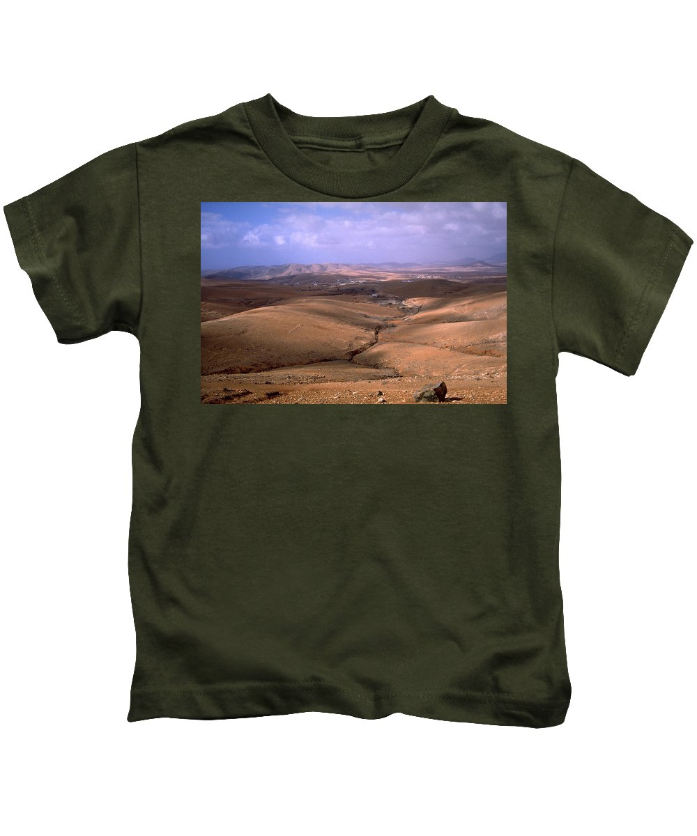 Fuerteventura Kids T-Shirt featuring the photograph Fuerteventura I by Flavia Westerwelle